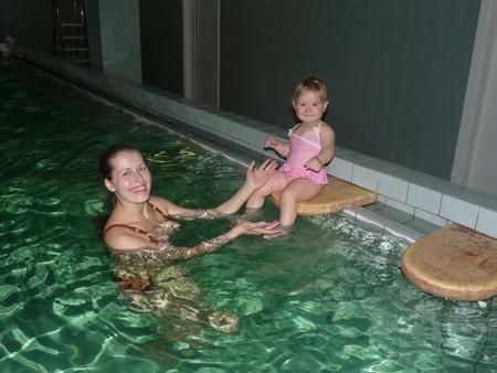 Грудничковое плавание. Наш опыт самостоятельного осваивания бассейна. — фото 1