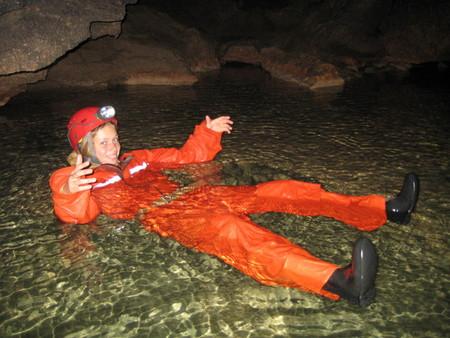 Путешествие в подземный мир. Спелеология для новичков. Преодоление сифонов в крымских пещерах — фото 49