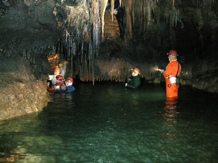 Путешествие в подземный мир. Спелеология для новичков. Преодоление сифонов в крымских пещерах — фото 47