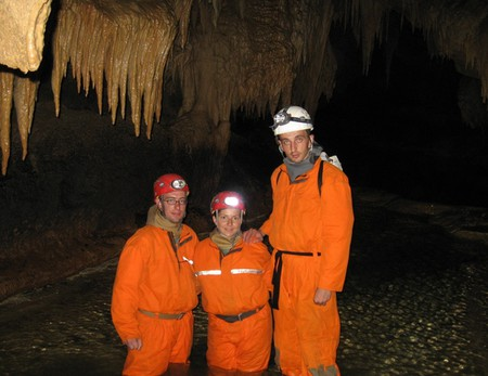Путешествие в подземный мир. Спелеология для новичков. Преодоление сифонов в крымских пещерах — фото 46