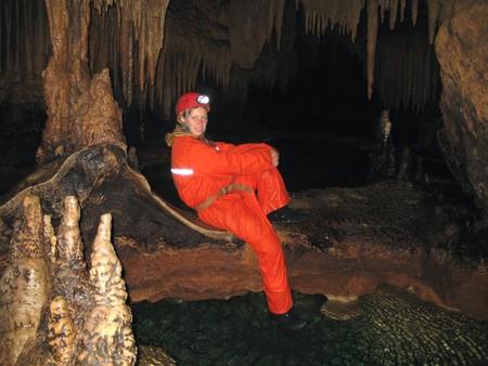 Путешествие в подземный мир. Спелеология для новичков. Преодоление сифонов в крымских пещерах — фото 54