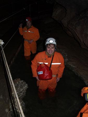 Путешествие в подземный мир. Спелеология для новичков. Преодоление сифонов в крымских пещерах — фото 55
