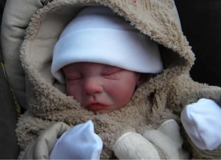 Новорожденные куклы от Glenda Ewarts — фото 7