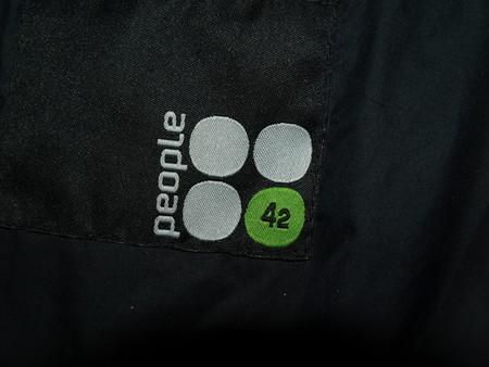 Вот такая эмблемка красовалась на куртке