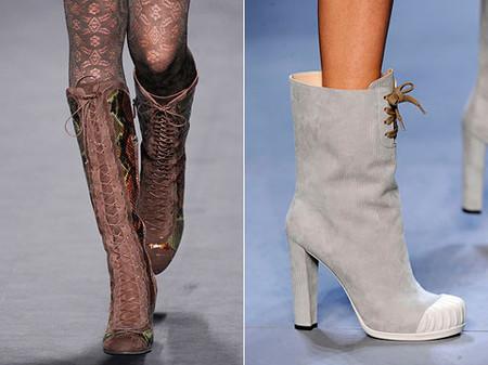 Тренд сезона - обувь со шнуровкой. — фото 1