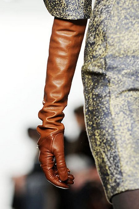Мода на длинные перчатки — фото 2