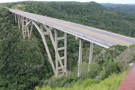 Мост на Кубе, соединяющий провинцию Матанзас с провинцией Гавана.