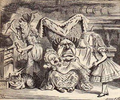 Алиса в Зазеркалье. Оригинальные гравюры Джона Тенниела -  Выставочный зал Дом Спиридонова — фото 10