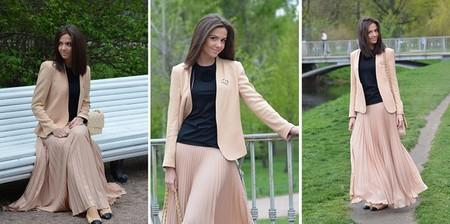 Длинная плиссированная юбка Rare Pleated Maxi Skirt  от Аsos- легкость и изыск грядущего лета. — фото 4