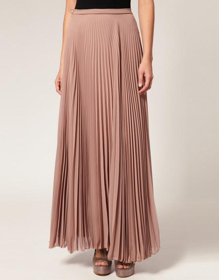 Длинная плиссированная юбка Rare Pleated Maxi Skirt  от Аsos- легкость и изыск грядущего лета. — фото 2