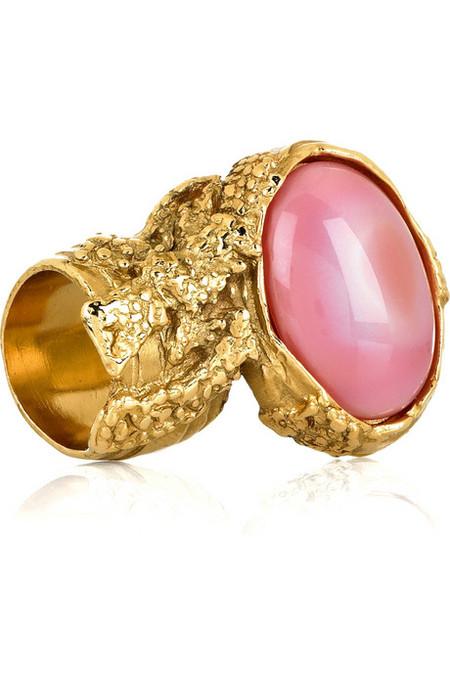 Необычное кольцо от YSL Arty Oval Ring — фото 1