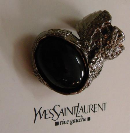Необычное кольцо от YSL Arty Oval Ring — фото 6