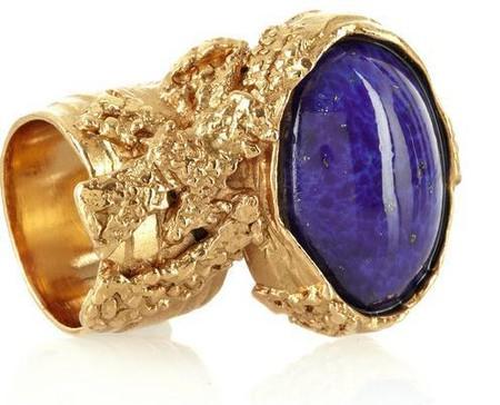 Необычное кольцо от YSL Arty Oval Ring — фото 2
