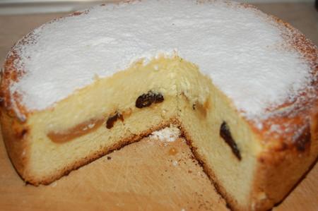 Творожный пирог с черносливом — фото 1