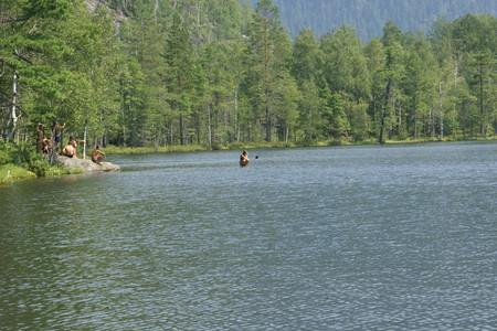 Озеро Сказка. Здесь купаются только русалки.