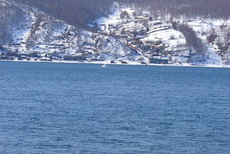 Байкал. Поселок Листвянка. Зима — фото 1