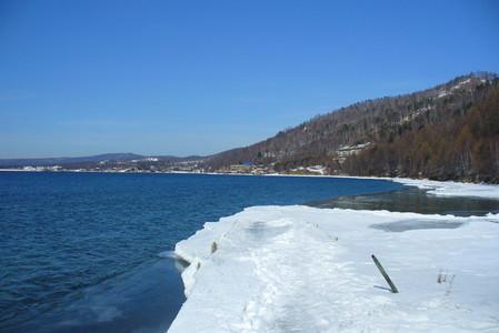 Байкал. Поселок Листвянка. Зима — фото 3