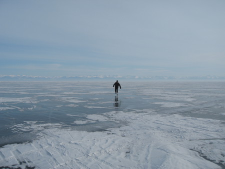 Байкал. Поселок Листвянка. Зима — фото 7