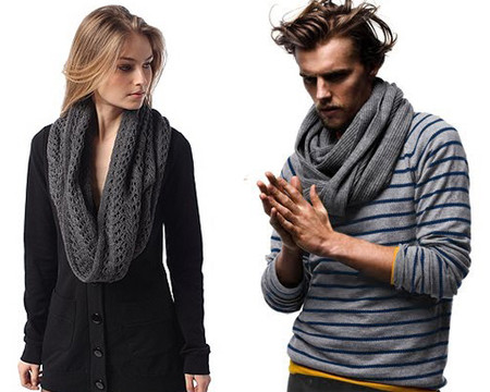 Снуд - модный тренд зимы 2011. — фото 4