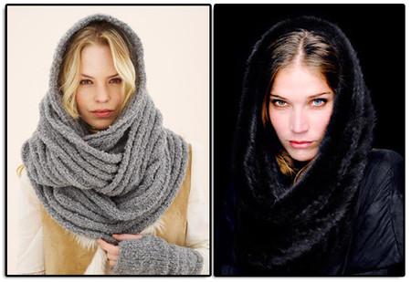 схемы модные вязаные шапки 2012, вязание снуда. вяжем шарф крючком.