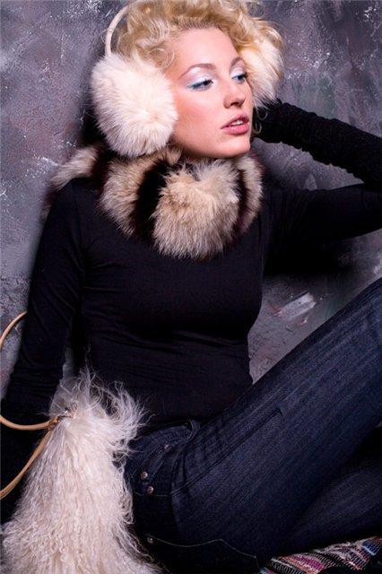 Меховой шарф: в свободном полете — фото 1