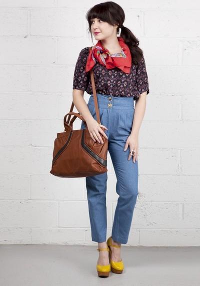 Снова в школу! Модный тренд: сумка-портфель — фото 2