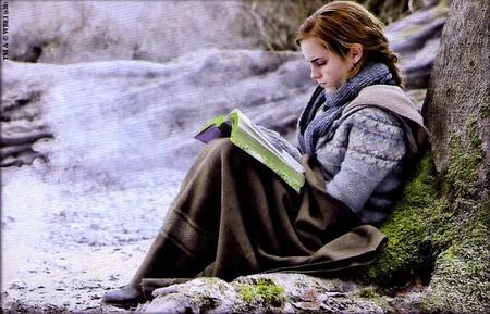 Гермиона в лесу Дин.