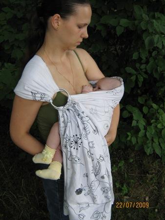 Слинг - помощник для мамы и комфорт для малыша — фото 2