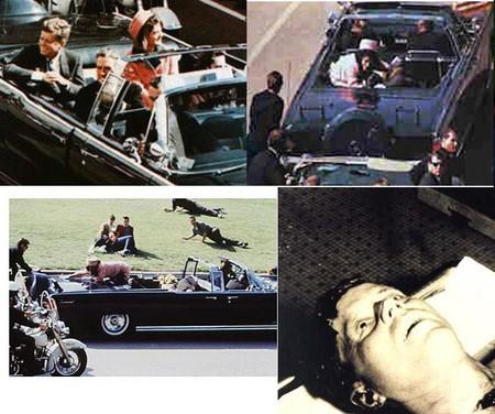 Убийство президента США Джона Ф. Кеннеди. Трагедия случилась 22.11.1963 года. Президент вместе со своей супругой и губернатором штата Техас Джоном Конналли ехали в центр города из аэропорта Далласа. По пути кортежа президента приветствовало более 200 тысяч человек. В один момент лимузин затормозил, и тот час же раздались выстрелы.