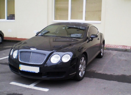Bentley Continental GT. Экипаж подан, сэр! — фото 1