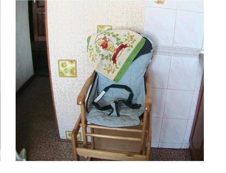 Складные высокие детские стульчики для кормления — фото 4