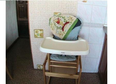 Складные высокие детские стульчики для кормления — фото 1