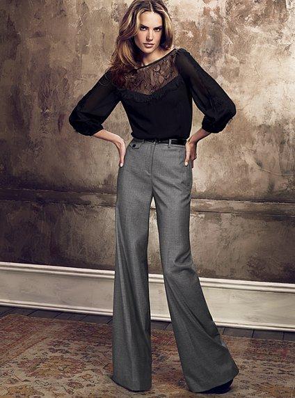 Модные брюки - какие они? — фото 2