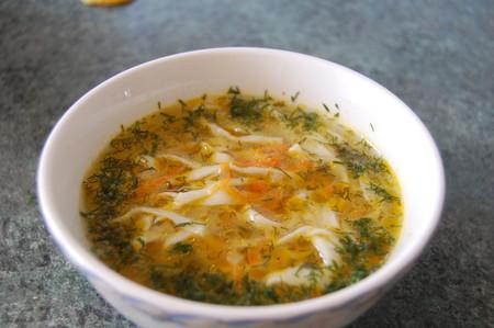 Суп с домашней лапшой — фото 13