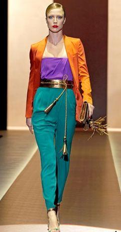 Модные брюки весна-лето 2011 — фото 8
