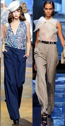 Модные брюки весна-лето 2011 — фото 6