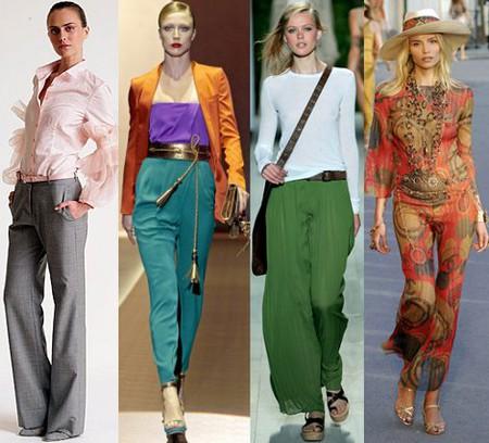 Модные брюки весна-лето 2011 — фото 1