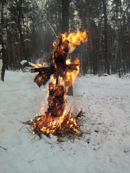 Мы проводили зиму — фото 1