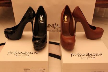 Туфли Ив Сен Лоран- только для утонченных модниц — фото 1