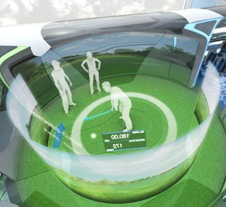 """Прозрачный самолет """"Airbus Concept Plane"""" — фото 7"""