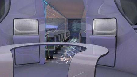 """Прозрачный самолет """"Airbus Concept Plane"""" — фото 8"""