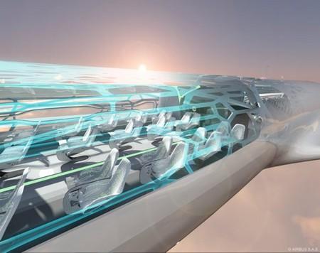 """Прозрачный самолет """"Airbus Concept Plane"""" — фото 3"""