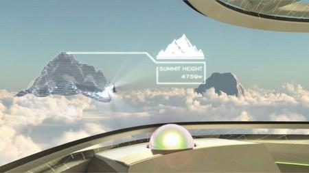 """Прозрачный самолет """"Airbus Concept Plane"""" — фото 5"""