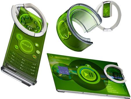 Nokia Morph Concept - мобильный телефон будующего! — фото 1