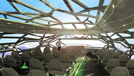 """Прозрачный самолет """"Airbus Concept Plane"""" — фото 6"""