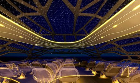 """Прозрачный самолет """"Airbus Concept Plane"""" — фото 4"""