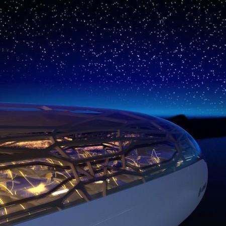 """Прозрачный самолет """"Airbus Concept Plane"""" — фото 9"""