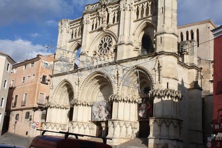 Куэнка. Центральная площадь и кафедральный собор.