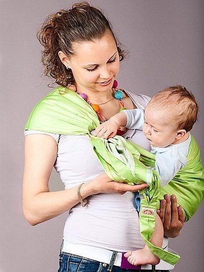 Техника безопасности при ношении ребенка в слинге — фото 1
