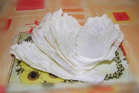 Голубцы из пекинской капусты с гречкой и мясом — фото 5